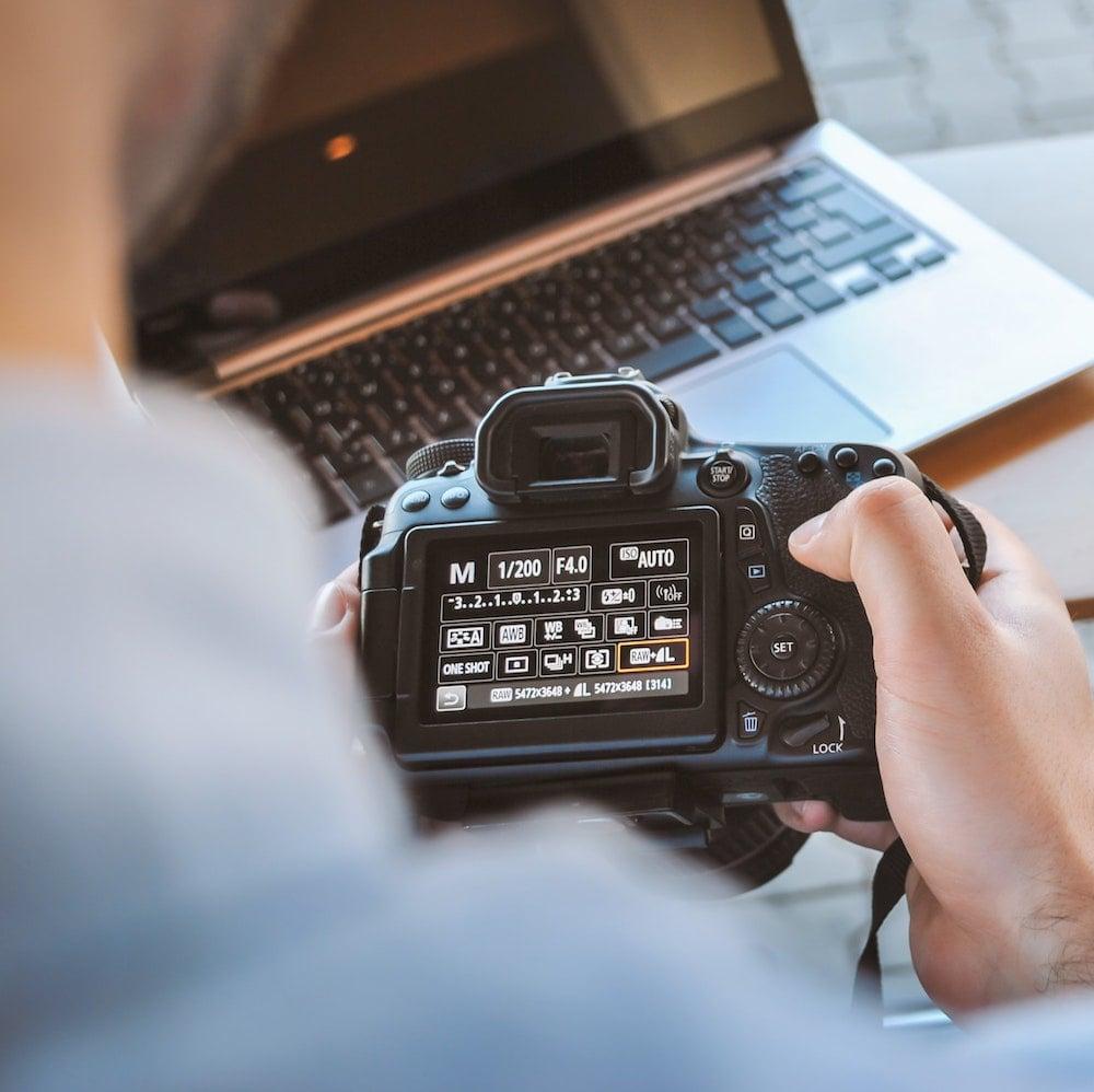 一眼レフカメラ、ミラーレスカメラについてのセミナー